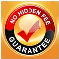 No Hidden Fee Guarantee